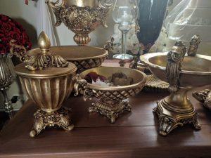 pecas resina dourada 10 300x225 - Peças de Resina Dourada