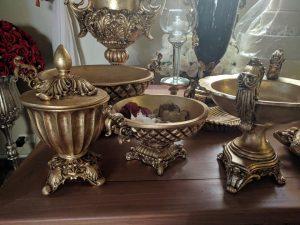 pecas resina dourada 8 300x225 - Peças de Resina Dourada